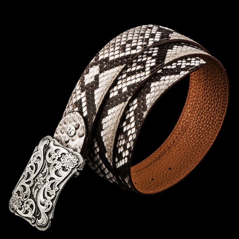 Handmade Genuine Leather Mens Belt Custom Cool Leather Men White Black Belt for Men