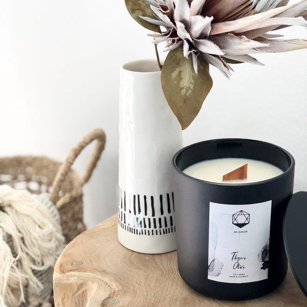 Curo Noir Soy Candles