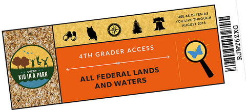 Free Pass for 4th Graders