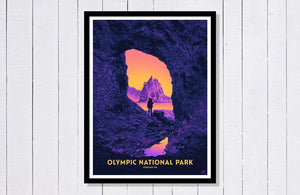 "Olympic National Park Poster - 18"" x 24"""