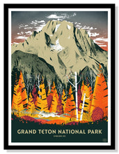 "Load image into Gallery viewer, Grand Teton National Park Poster - 18"" x 24"""