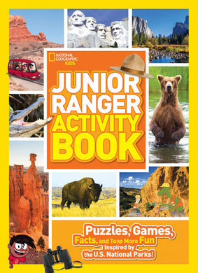 Junior Ranger Activity Book: Puzzles, Games, and Facts inspired by the U.S. National Parks!
