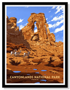 "Canyonlands National Park Poster - 18"" x 24"""