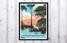 "Load image into Gallery viewer, Everglades National Park Poster - 18"" x 24"""