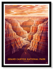 "Load image into Gallery viewer, Grand Canyon National Park Poster - 18"" x 24"""