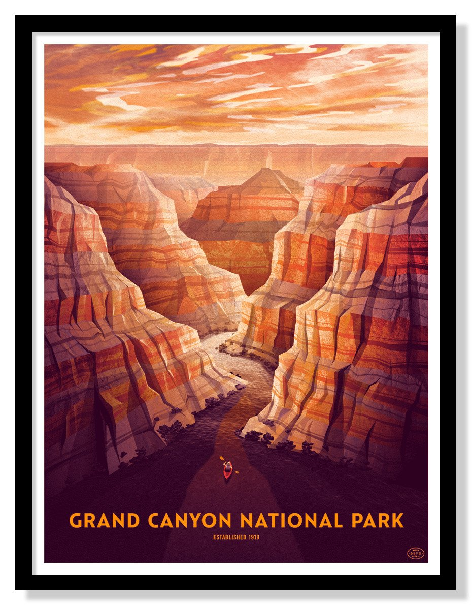 Grand Canyon National Park Poster - 18