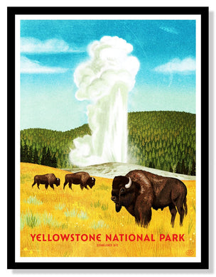 Yellowstone National Park Poster - 18