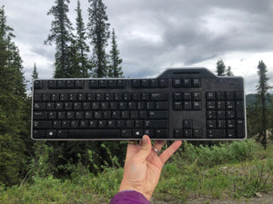 Fireweed Keyboard Print - Limited Closed Edition