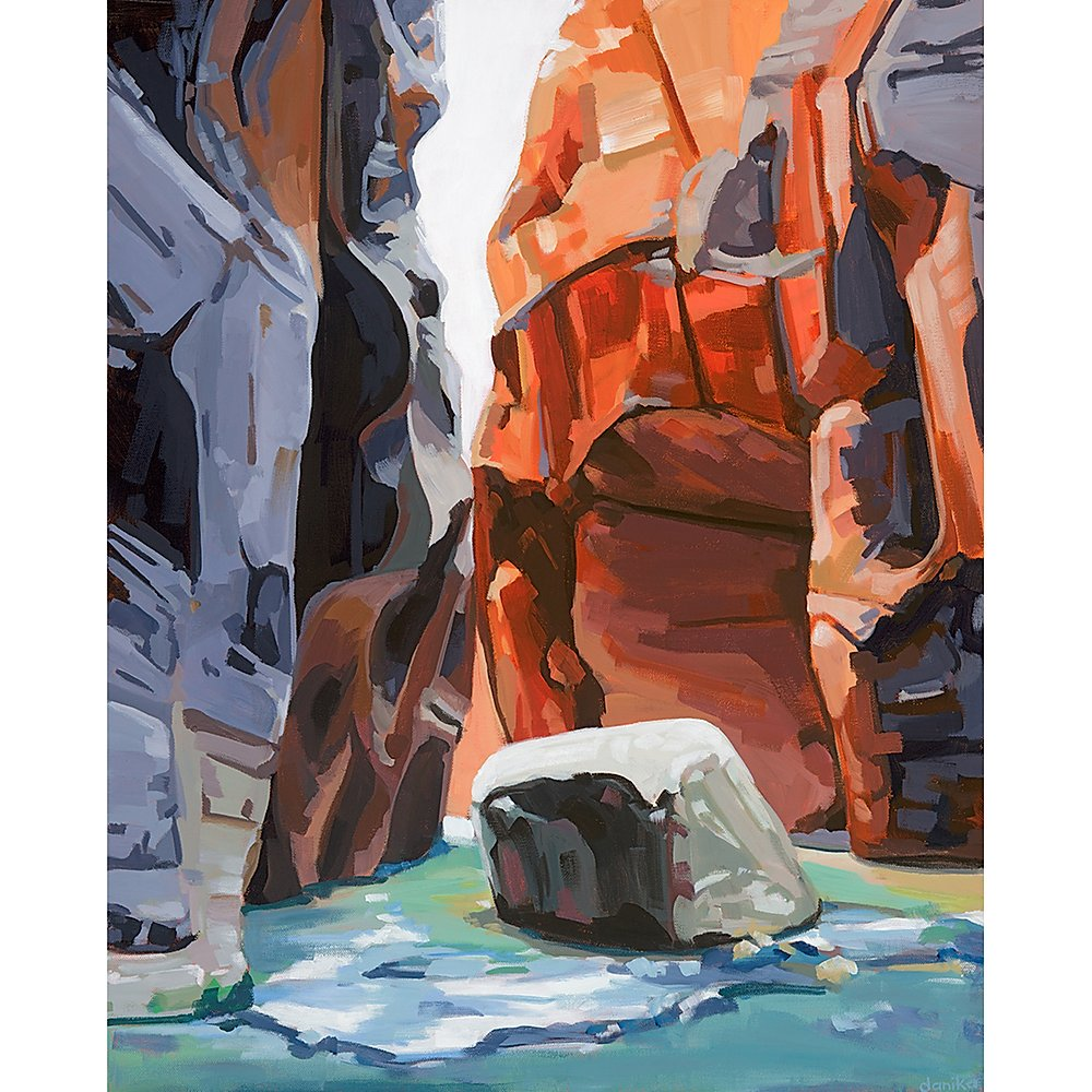 Zion Narrows II Limited Edition Print