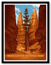 "Load image into Gallery viewer, Bryce Canyon National Park Poster - 18"" x 24"""