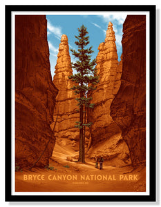 "Bryce Canyon National Park Poster - 18"" x 24"""