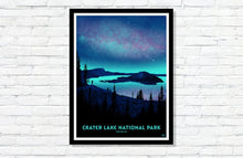 "Load image into Gallery viewer, Crater Lake National Park Poster - 18"" x 24"""