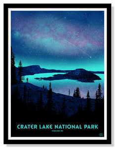 "Crater Lake National Park Poster - 18"" x 24"""