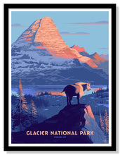 "Load image into Gallery viewer, Glacier National Park Poster - 18"" x 24"""
