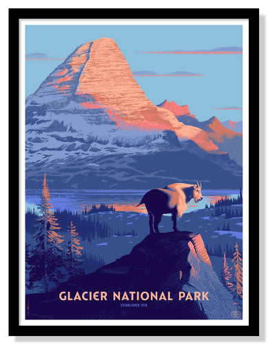 Glacier National Park Poster - 18
