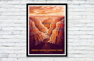 "Grand Canyon National Park Poster - 18"" x 24"""