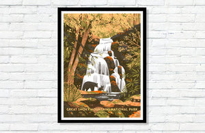 "Great Smoky Mountains National Park Poster - 18"" x 24"""