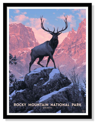 Rocky Mountain National Park Poster - 18