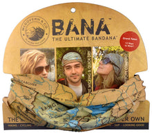 Load image into Gallery viewer, National Park Map Bana Headwear