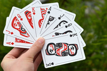 Load image into Gallery viewer, Trickster Co. Playing Cards - Tlingit Edition