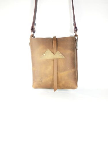 Copper Crossbody with Mountain Closure