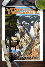 Load image into Gallery viewer, Yellowstone National Park Poster - Artist Point