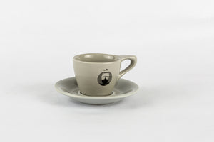 Groundswell Endurance 3oz Demitasse Espresso Mug and Saucer by NotNeutral
