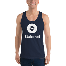 Classic Tank Top with Giant White Stakenet Logo