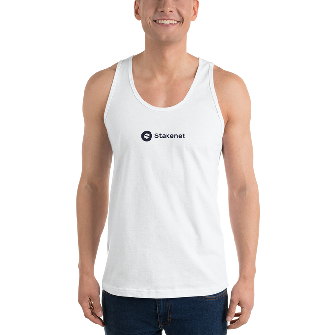 Classic Tank Top with Black Stakenet Logo
