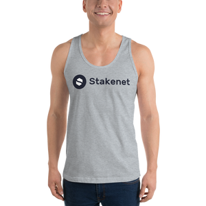Classic Tank Top with Big Black Stakenet Logo