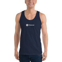 Classic Tank Top with White Stakenet Logo