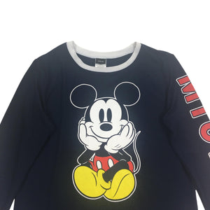 Disney Mickey Mouse Spellout Longsleeve