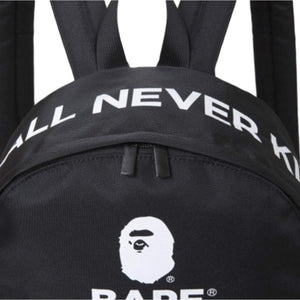 A Bathing Ape Logo Backpack
