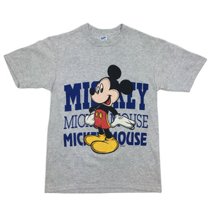 Vintage Disney Mickey Mouse Big Logo Graphic Tee