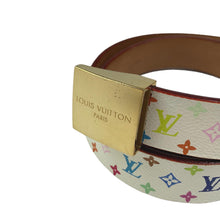 Louis Vuitton x Takashi Murakami Multicolour Monogram Belt