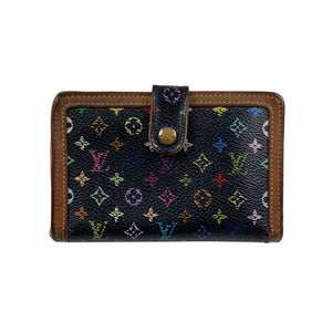 Louis Vuitton × Takashi Murakami Multicolour Monogram Wallet