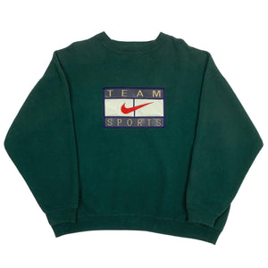 "Vintage Bootleg Nike ""Team Sports"" Embroidered Crewneck"