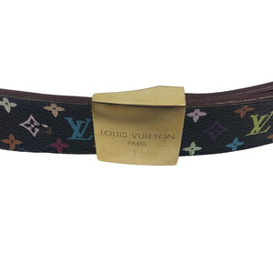 Louis Vuitton Multicolour Monogram Ceinture Carre Belt