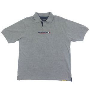 Vintage Tommy Hilfiger Embroidered Spellout Polo