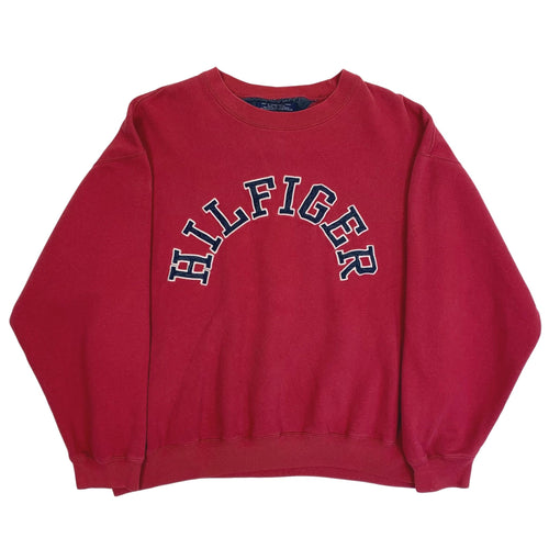 Vintage Tommy Hilfiger Embroidered Spellout Crewneck