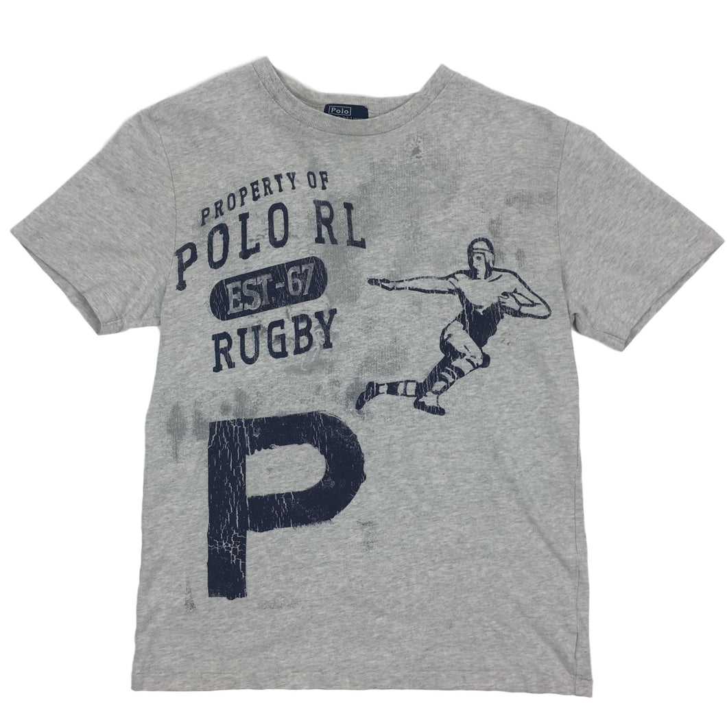 Vintage Polo Ralph Lauren Rugby Graphic Tee