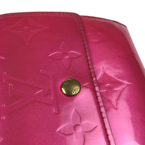 Louis Vuitton Vernis Wallet, Pink