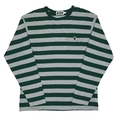 Bape Striped Longsleeve