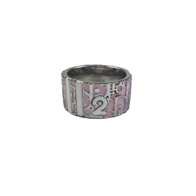 Christian Dior Trotter Ring, Pink (Size: 6)