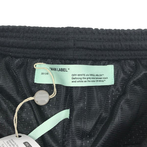 Off-White Diagonal Stencil Mesh Shorts