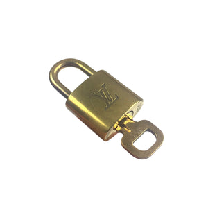 Louis Vuitton Padlock & Key