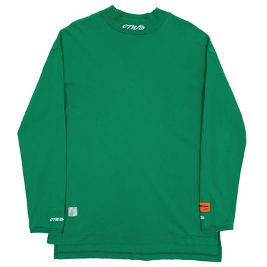 Heron Preston Mock Neck Green