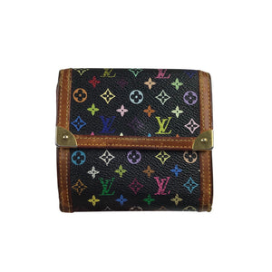 Louis Vuitton Takashi Murakami Multicolour Monogram Bifold Wallet