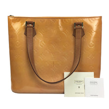 Louis Vuitton Houston Vernis Shoulder/Hand Bag, Orange