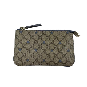 Gucci GG Supreme Star Monogram Pouch Wallet